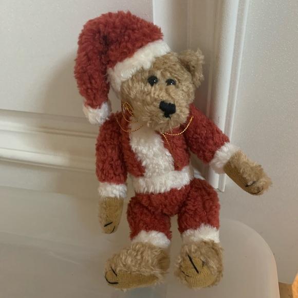 Boyd's Collection Stuffed Santa Bear